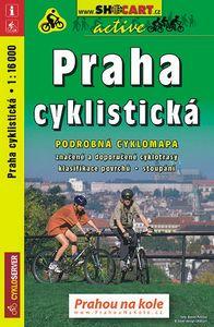 Cyklisticka mapa Prahy - obal