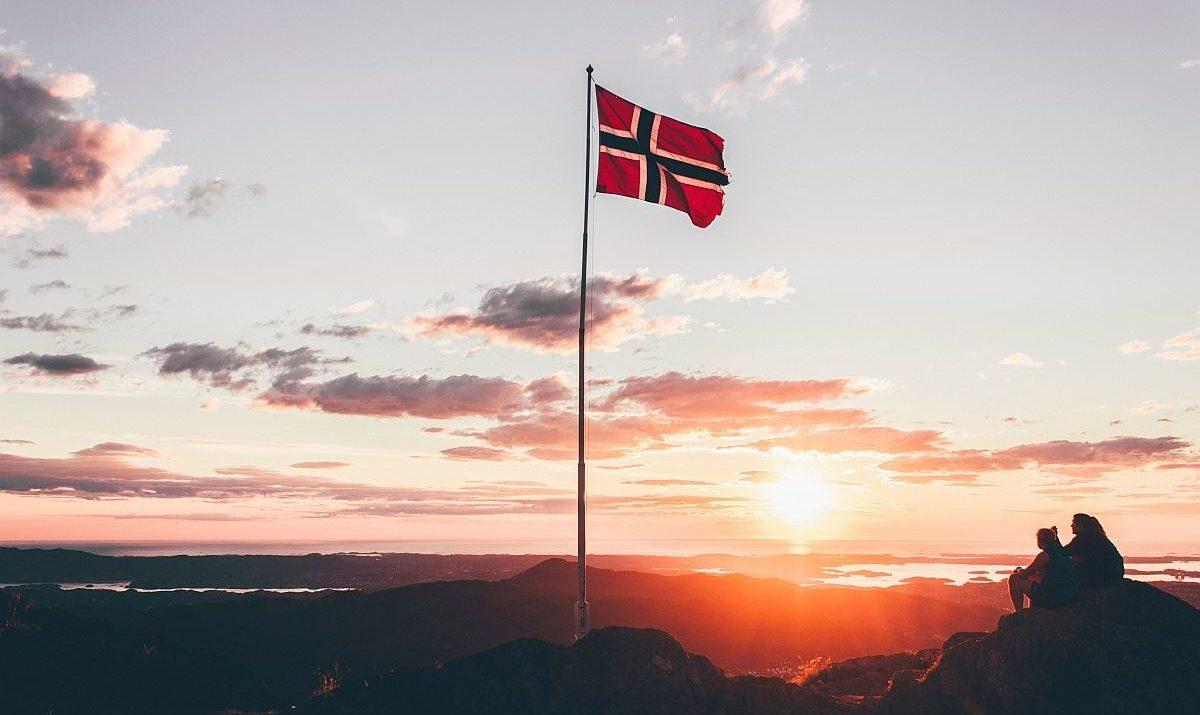 Norsko vlajka