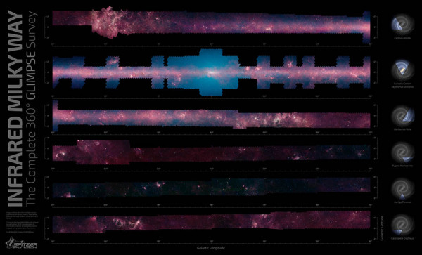geobusiness-magazine-mlecna-draha-360-panorama-spitzer-teleskop-w600