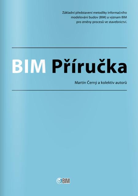 Obálka elektronické verze příručky o BIM, kterou napsali členové Odborné rady pro BIM.