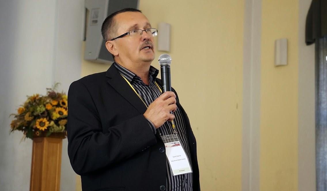 Karel Charvát na konferenci ISAF 2014 [Foto: Irena Košková]
