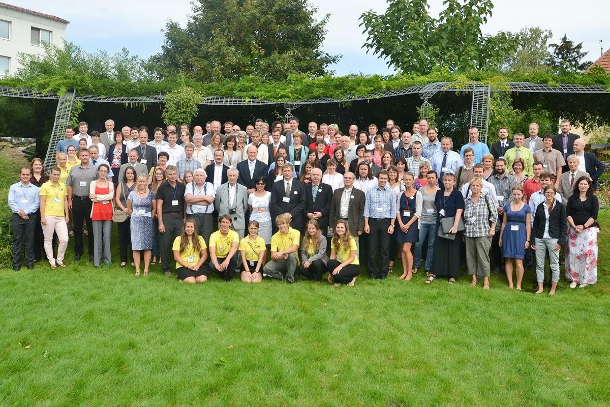 21. kartografická konference, společné foto / foto Jan Brus