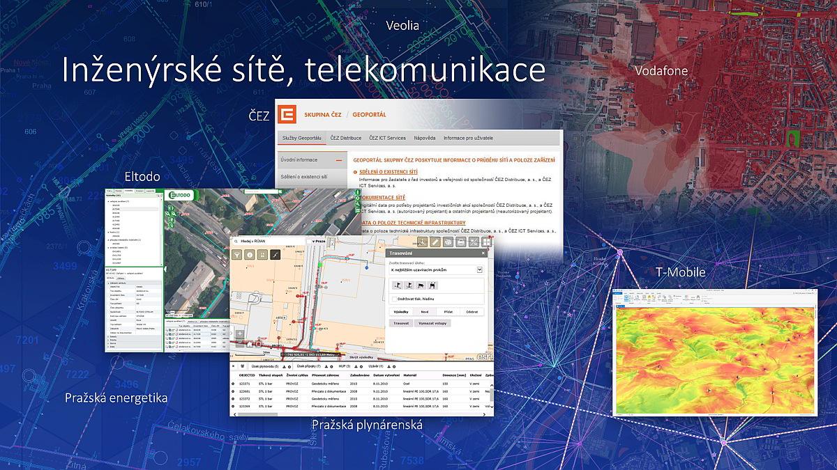 ukázka mapové tvorby uživatelů Esri / zdroj archiv Arcdata Praha / časopis GeoBusiness