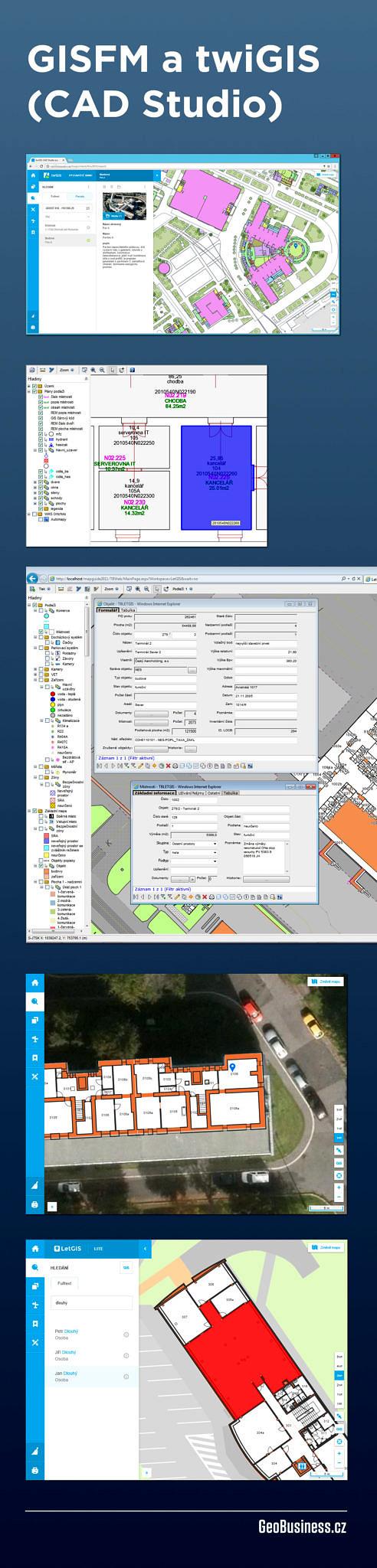CAD Studio - GISFM a twiGIS / GeoBusiness.cz