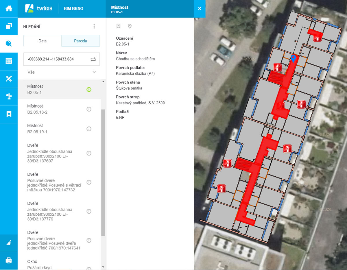 twiGIS CAD Studio - ukázka uživatelského prostředí / GeoBusiness.cz