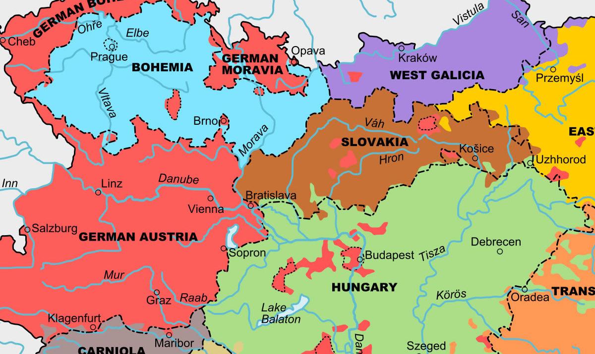 projekt Spojené státy Velkého Rakouska / GeoBusiness.cz