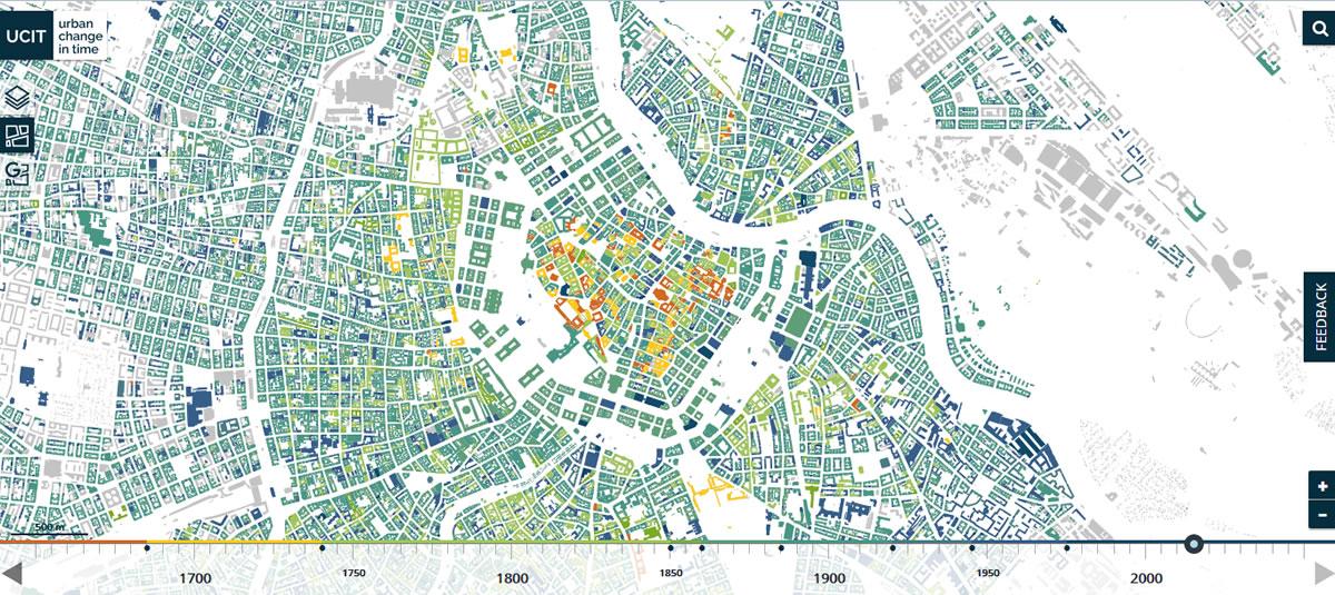 Urbanistický vývoj Vídně v průběhu staletí