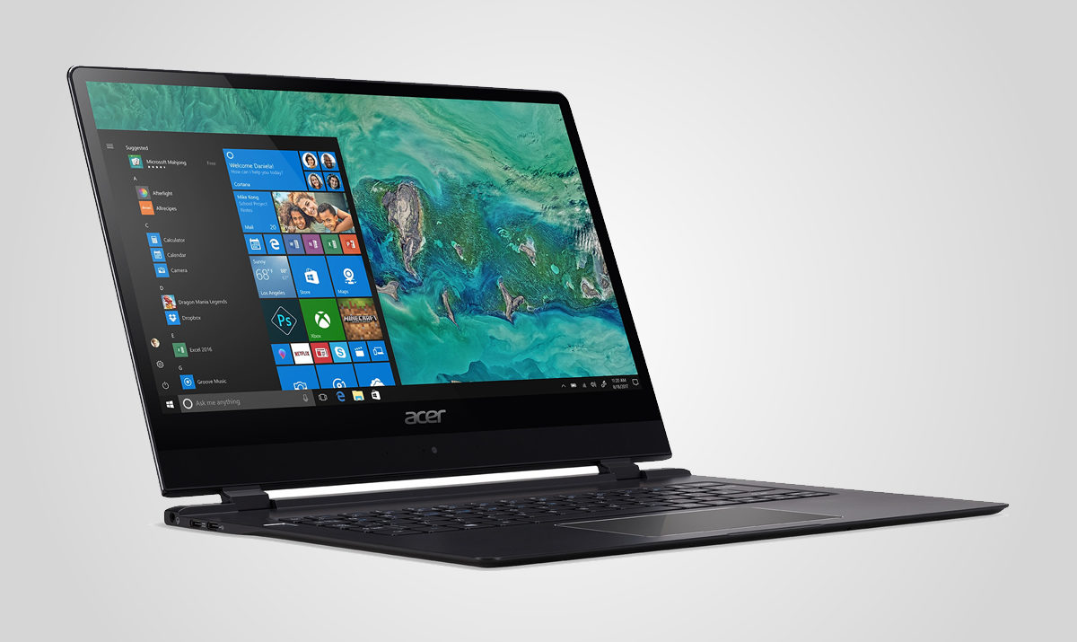 Acer Swift 7 oznámen na CES 2018 / GeoBusiness