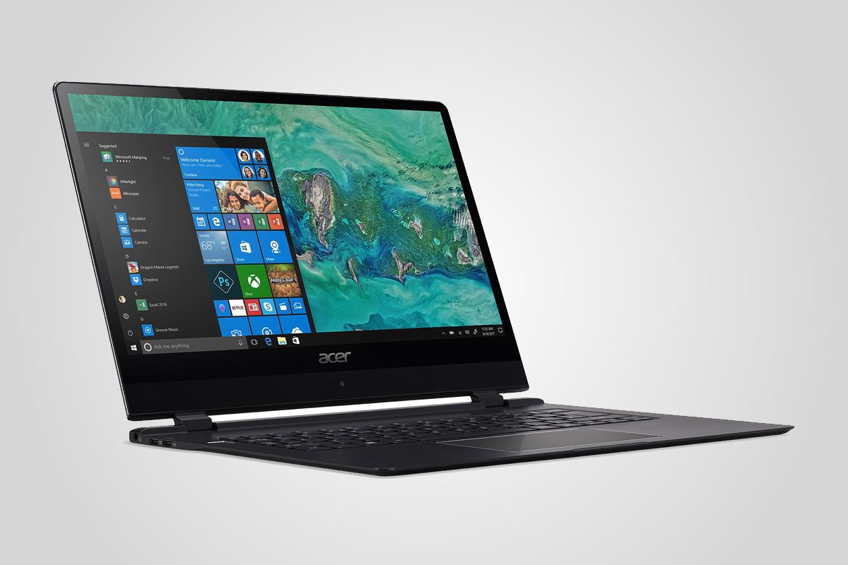 Acer Swift 7 oznámen na CES 2018 / GeoBusiness
