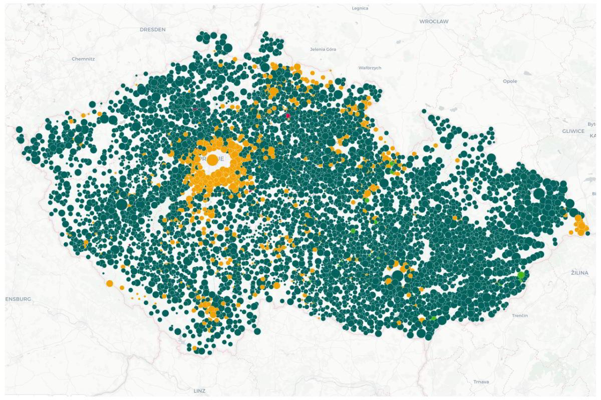 mapa-prezidentske-volby-2018-prvni-kolo-ceska-televize