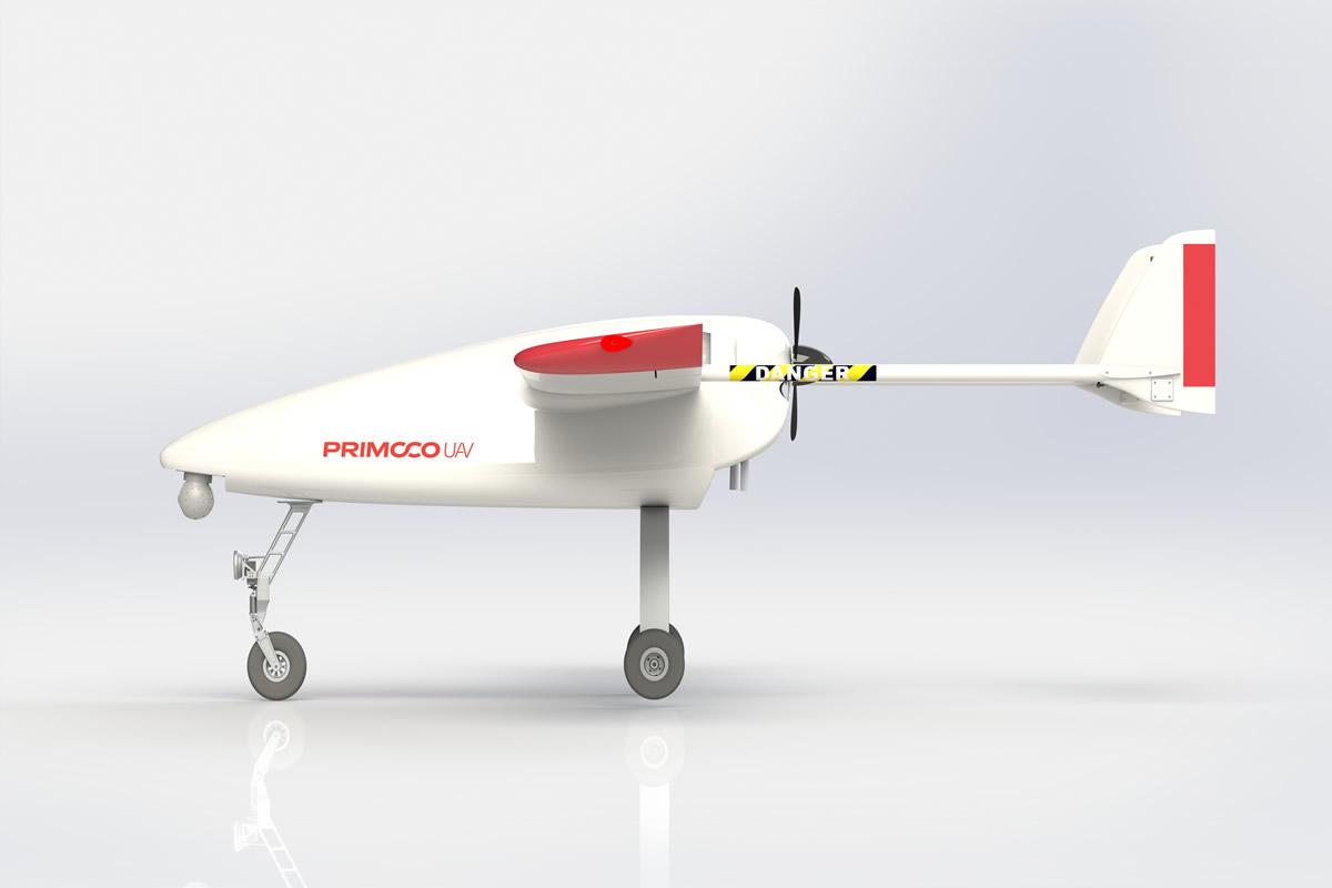 CAD model Primoco UAV letoun / GeoBusiness