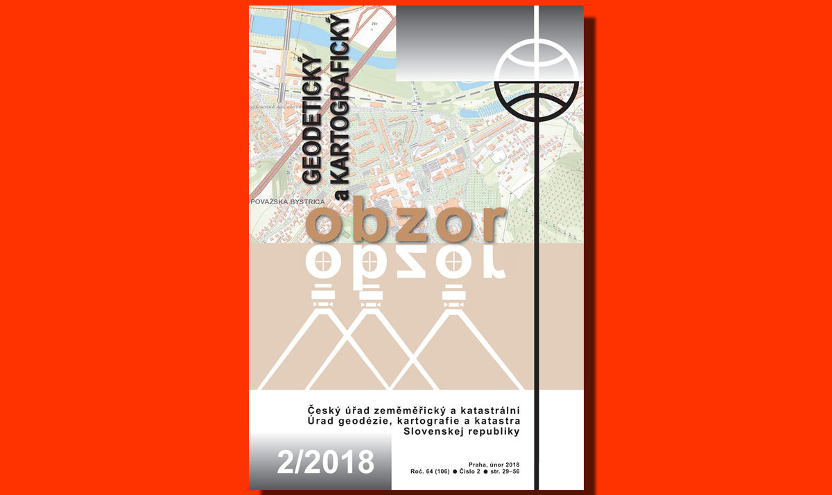 Geodetický a kartografický obzor 2/2018
