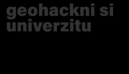 GIS hackathon Mendelu 2018