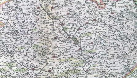 Komenského mapa Moravy - výstava