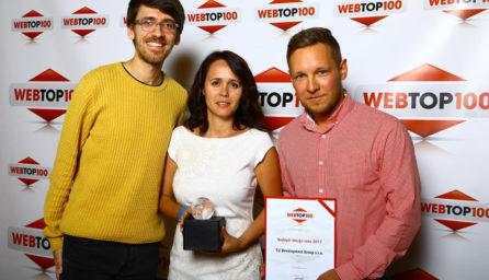 soutěž WebTop 100 / GeoBusiness