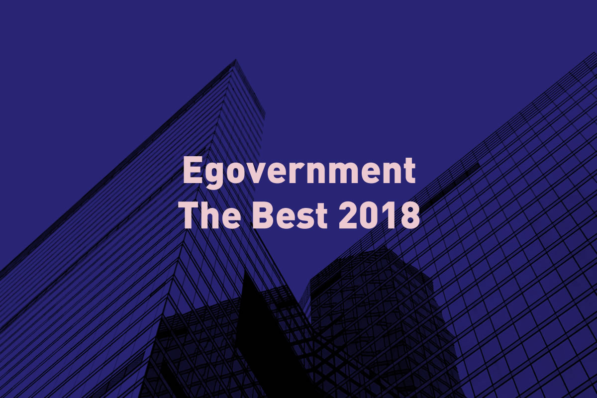 soutěž Egovernment The Best 2018 / GeoBusiness