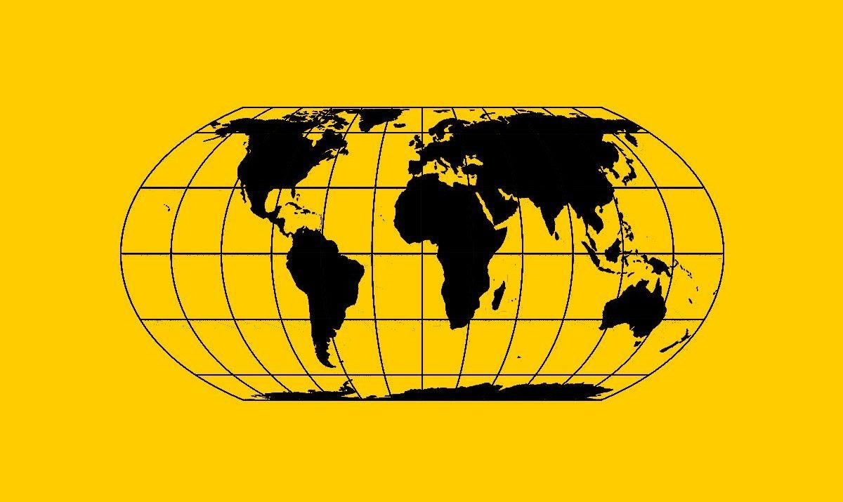 kartografické zobrazení Equal Earth / GeoBusiness