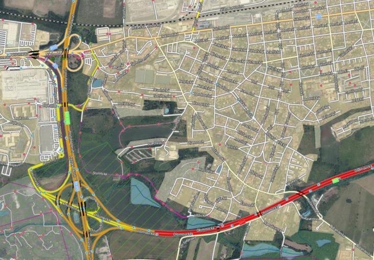 geodatabáze StreetNet / GeoBusiness
