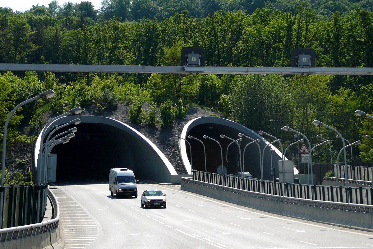 Pisárecký tunel, foto Pavel Ševela, Wikimedia Commons