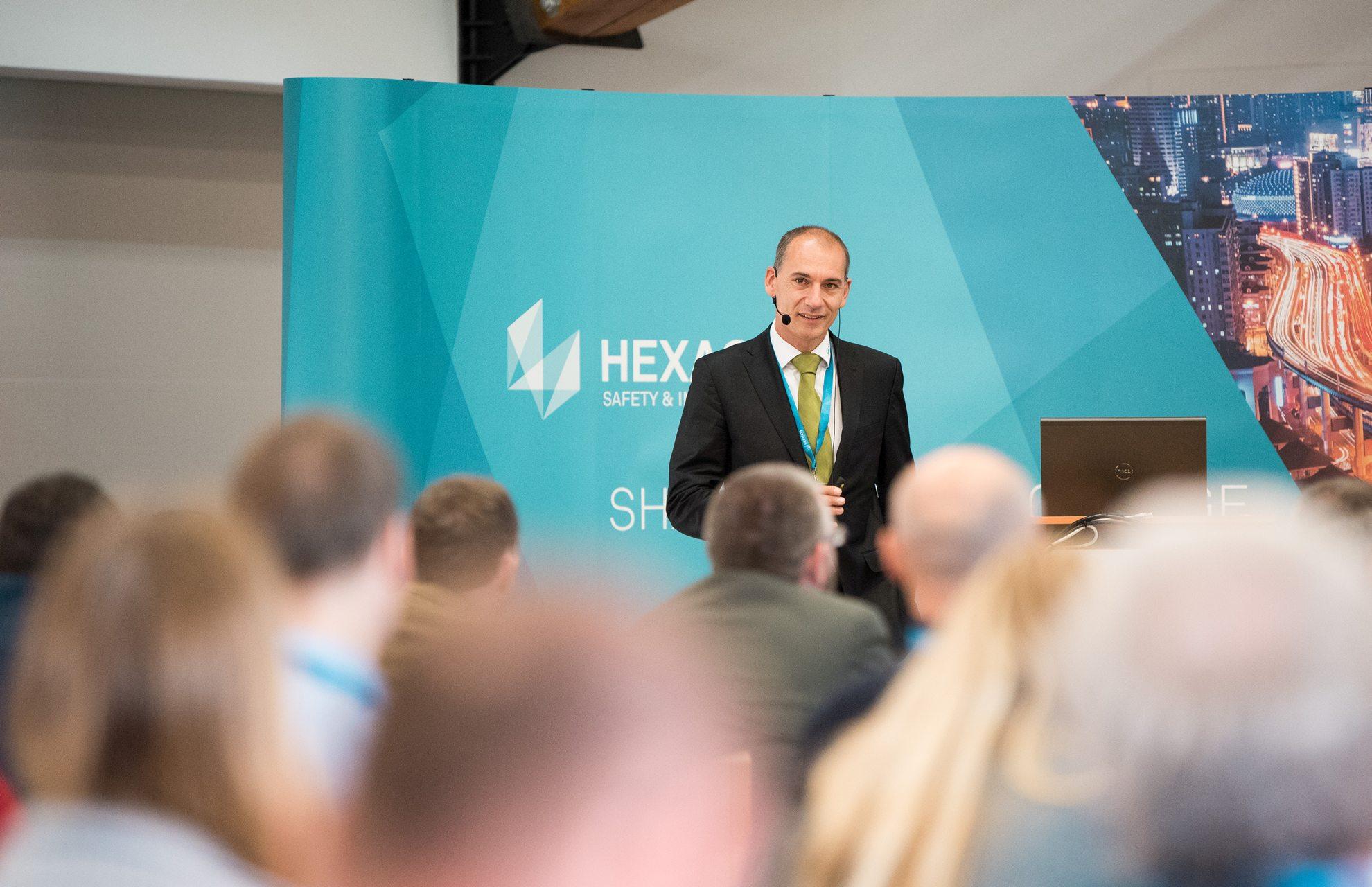 Jakub Svatý, Hexagon, na konferenci HxGN Local / GeoBusiness