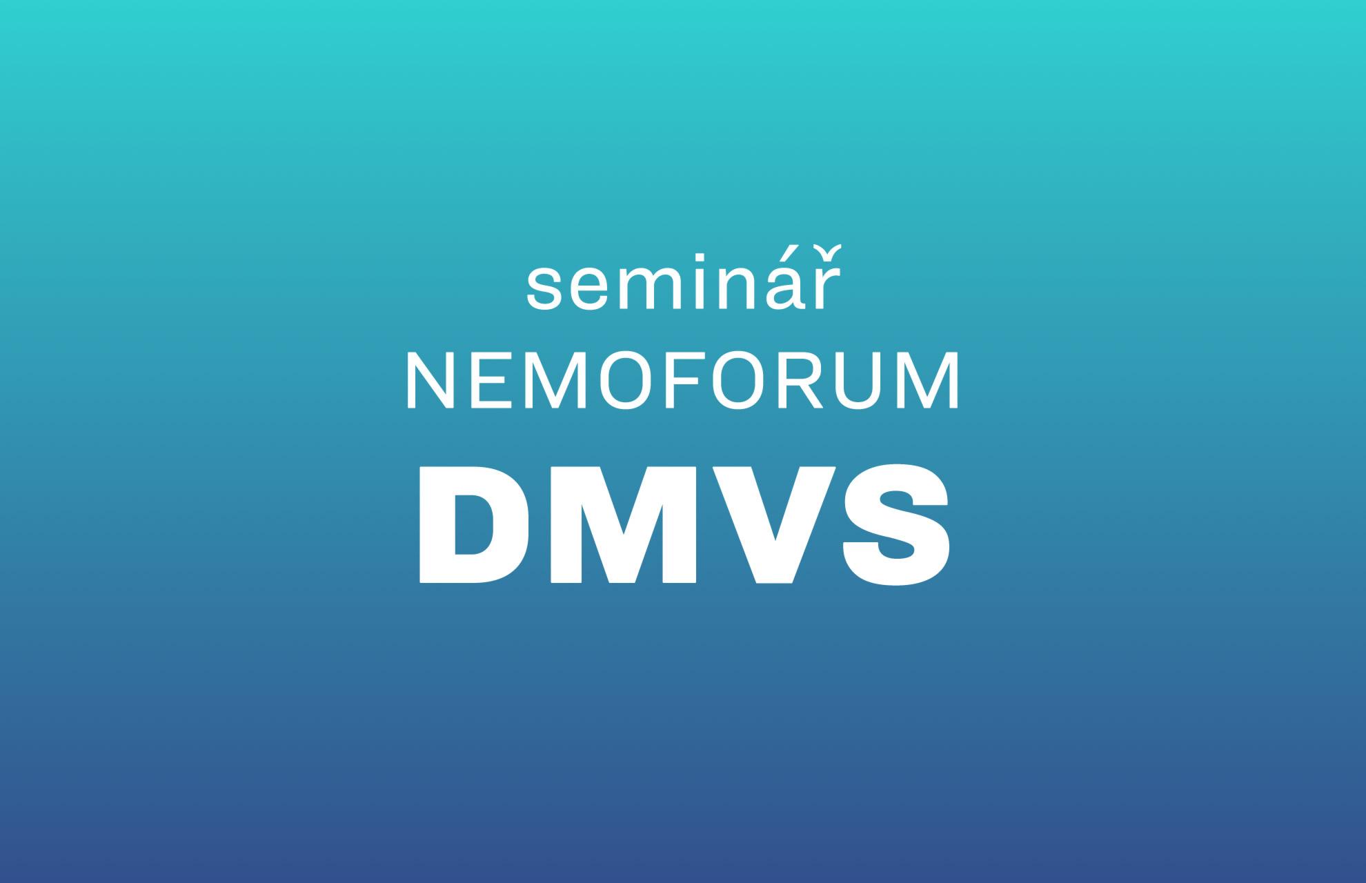 seminář Nemoforum Digitální mapa veřejné správy / 2019