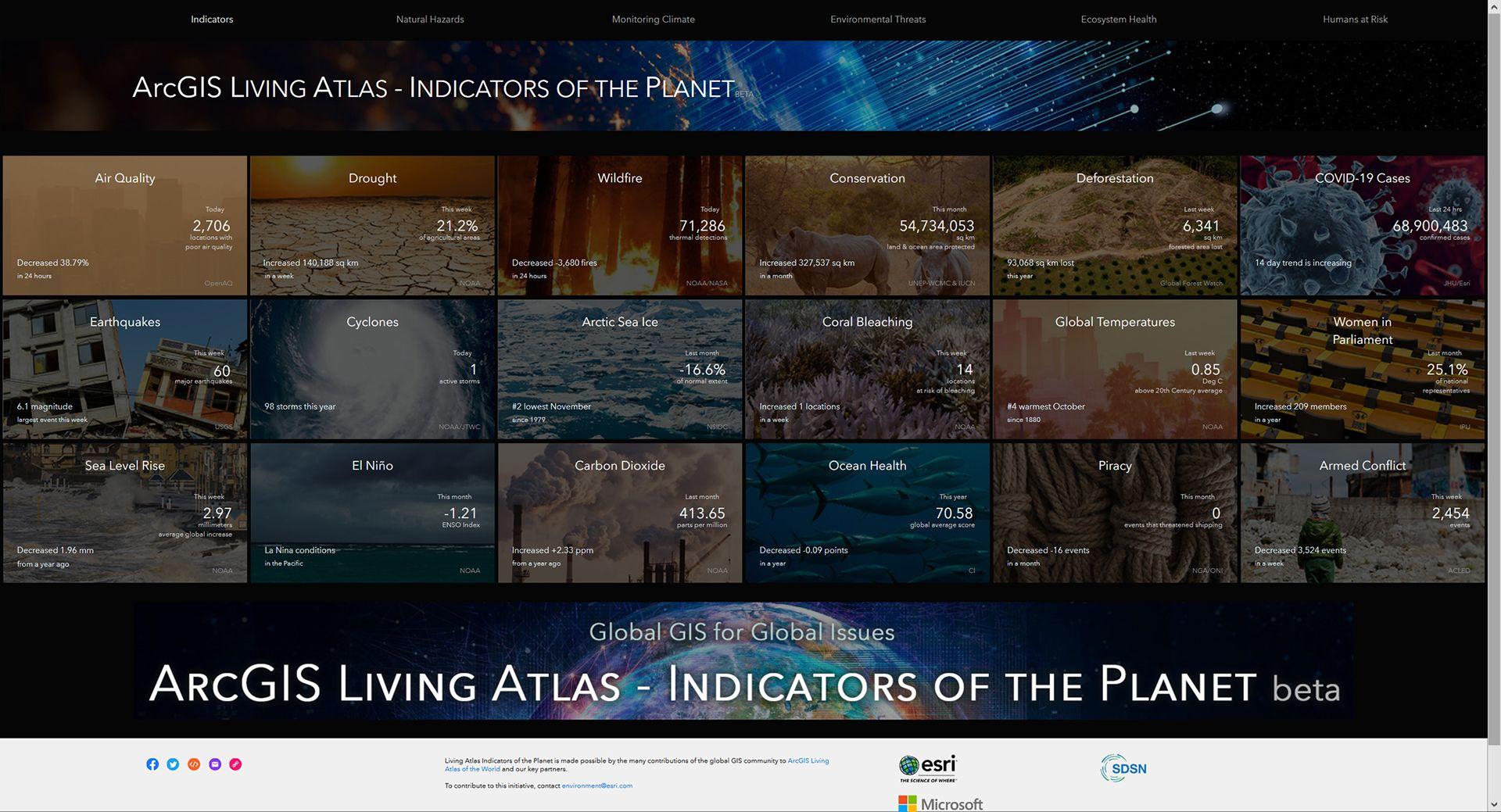 arcgis-experience-builder-living-atlas-ukazka